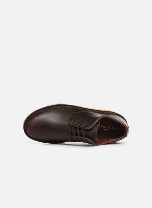 Zapatos con cordones Clarks Originals Desert London. Marrón vista lateral izquierda