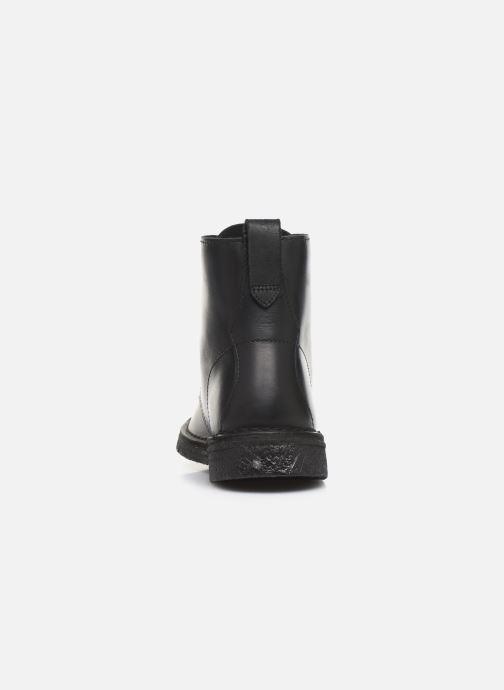 Bottines et boots Clarks Originals Desert Mali. Noir vue droite