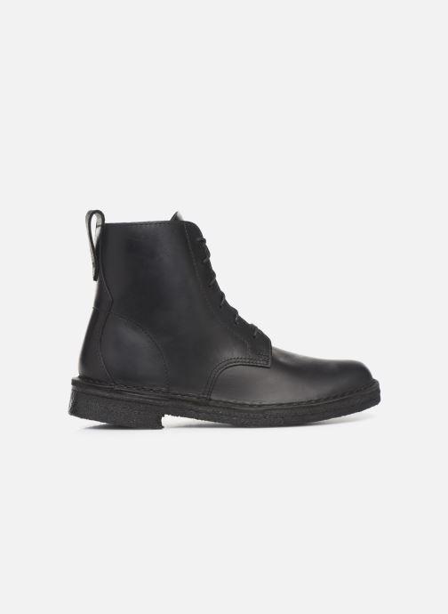 Bottines et boots Clarks Originals Desert Mali. Noir vue derrière