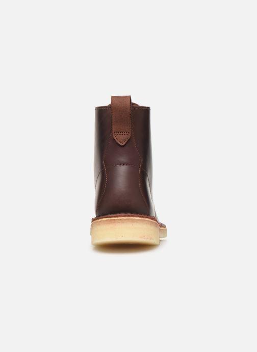 Bottines et boots Clarks Originals Desert Mali. Marron vue droite