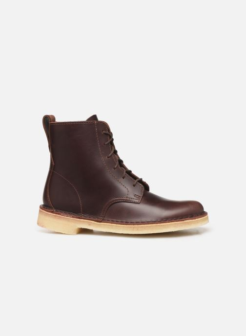 Ankle boots Clarks Originals Desert Mali. Brown back view