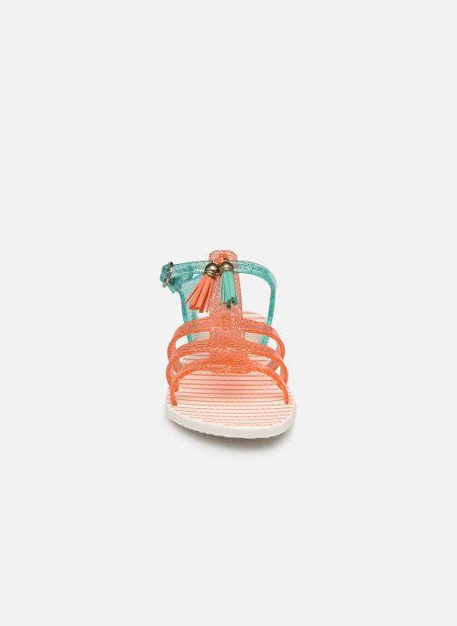 Sandales et nu-pieds Gioseppo Chicsa Bleu vue portées chaussures
