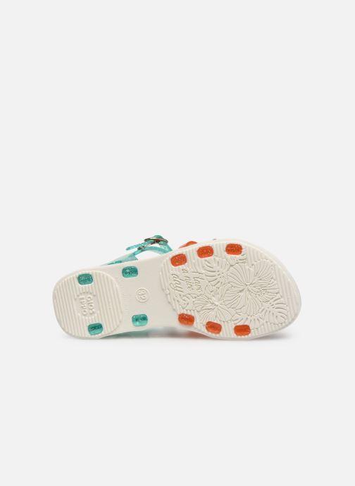 Sandales et nu-pieds Gioseppo Chicsa Bleu vue haut
