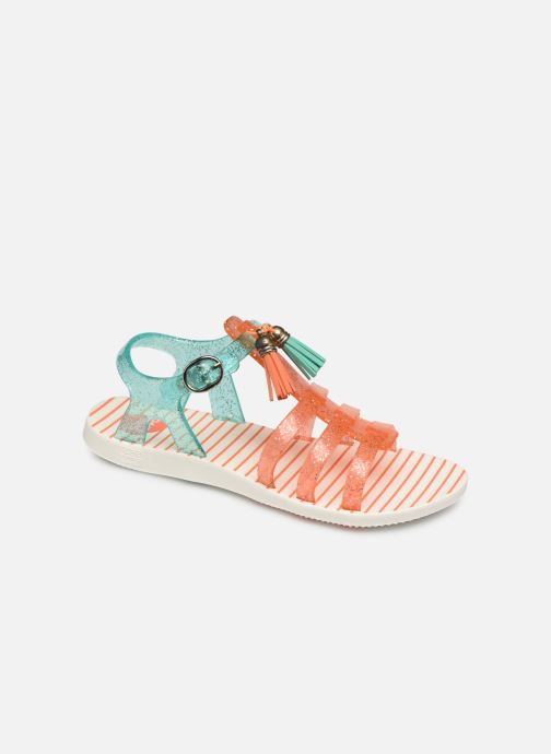 Sandals Gioseppo Chicsa Blue detailed view/ Pair view