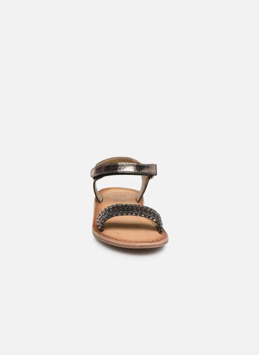 Sandales et nu-pieds Gioseppo Chia Argent vue portées chaussures