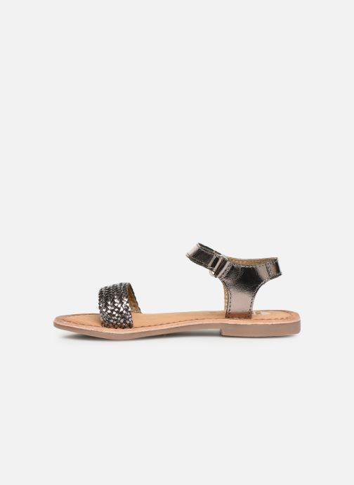 Sandals Gioseppo Chia Silver front view
