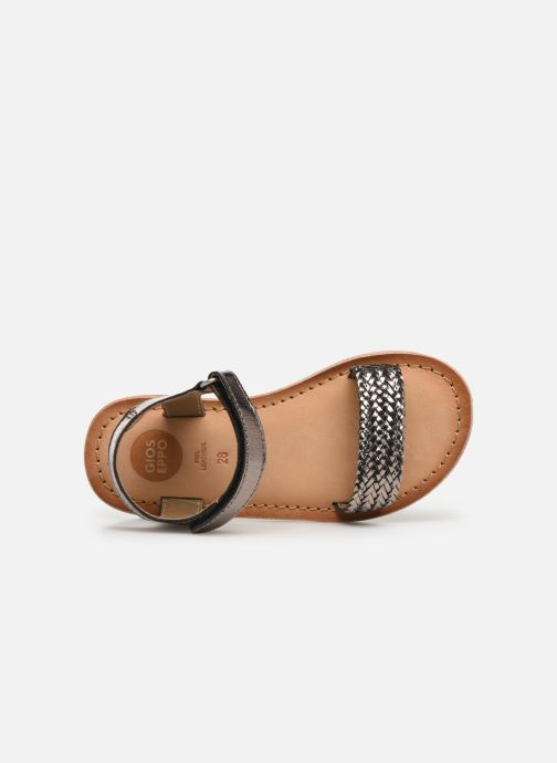 Sandals Gioseppo Chia Silver view from the left