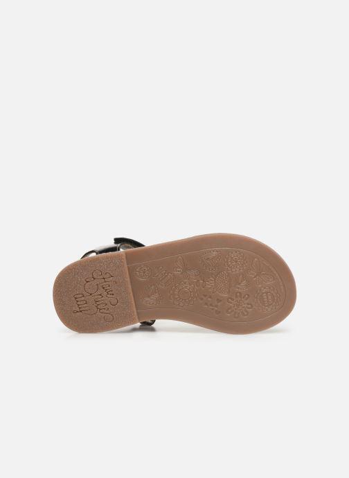 Sandales et nu-pieds Gioseppo Chia Argent vue haut