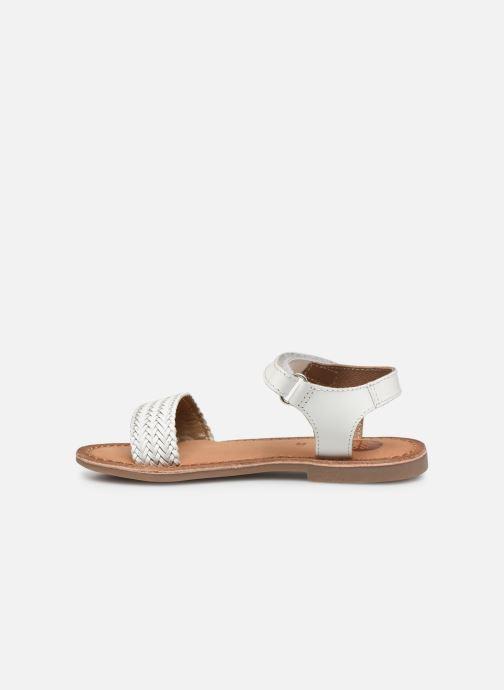 Sandalen Gioseppo Chia weiß ansicht von vorne