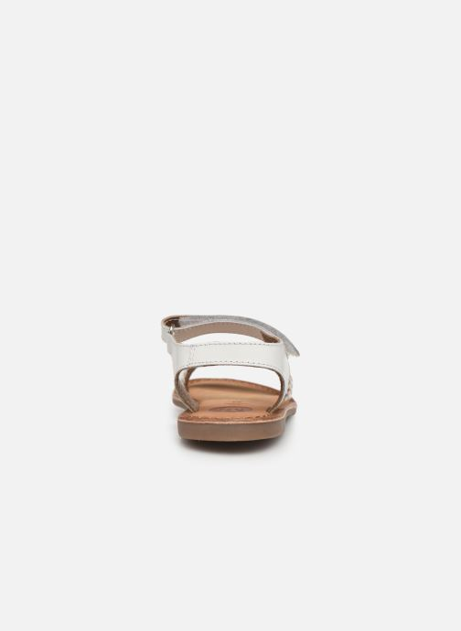 Sandales et nu-pieds Gioseppo Chia Blanc vue droite