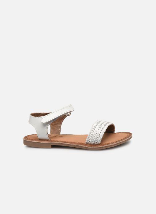Sandales et nu-pieds Gioseppo Chia Blanc vue derrière