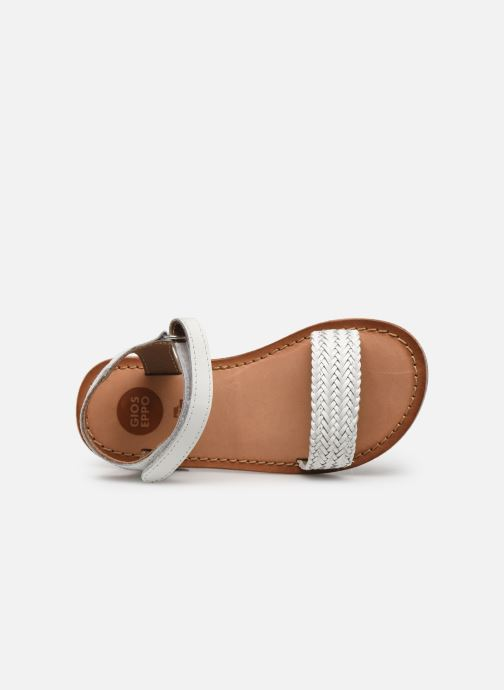 Sandales et nu-pieds Gioseppo Chia Blanc vue gauche
