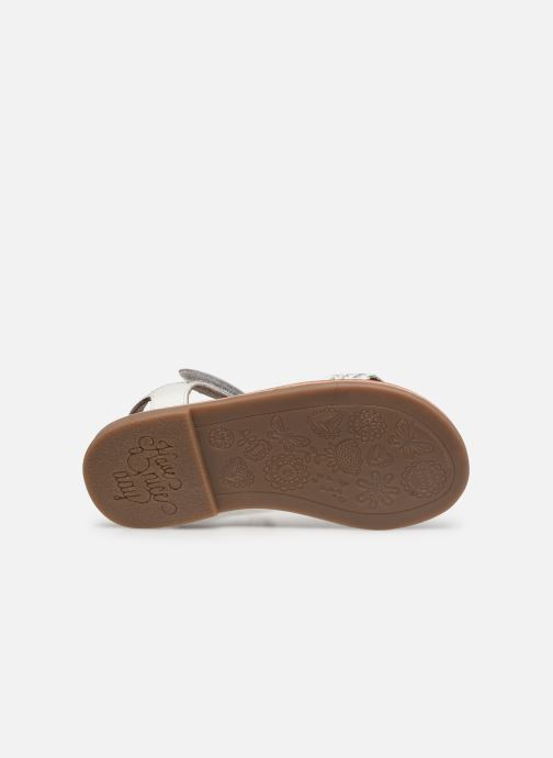 Sandales et nu-pieds Gioseppo Chia Blanc vue haut