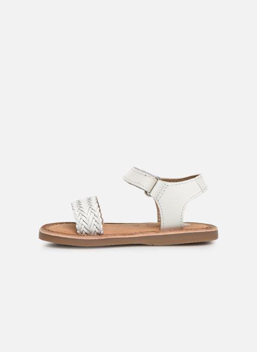 Sandali e scarpe aperte Gioseppo Centeno Bianco immagine frontale