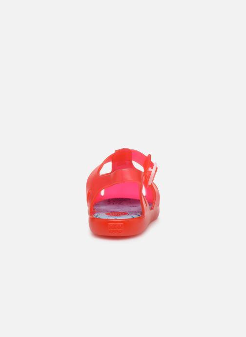 Sandalias Gioseppo Mare Rojo vista lateral derecha
