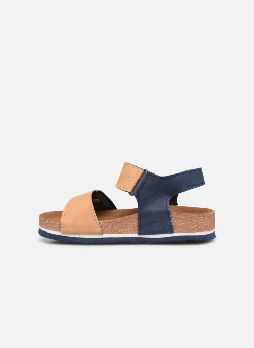 Sandals Gioseppo Mare Blue front view