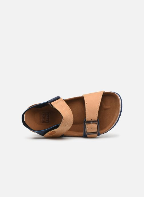 Sandals Gioseppo Mare Blue view from the left