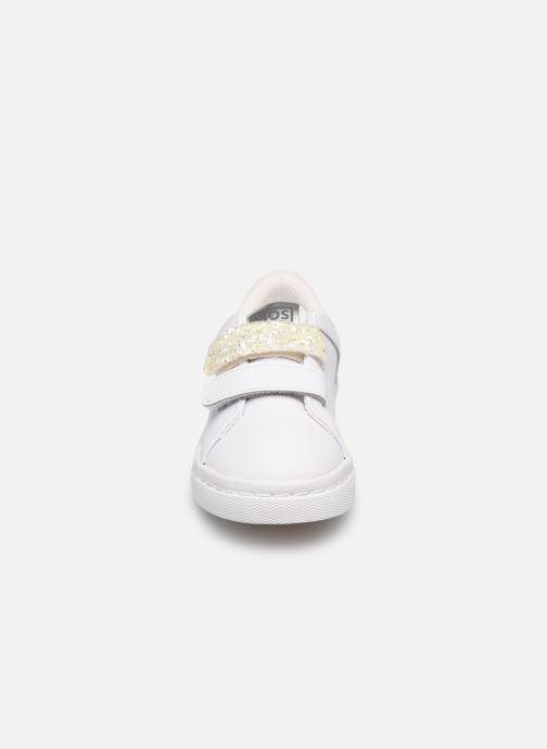 Baskets Gioseppo 43922 Blanc vue portées chaussures