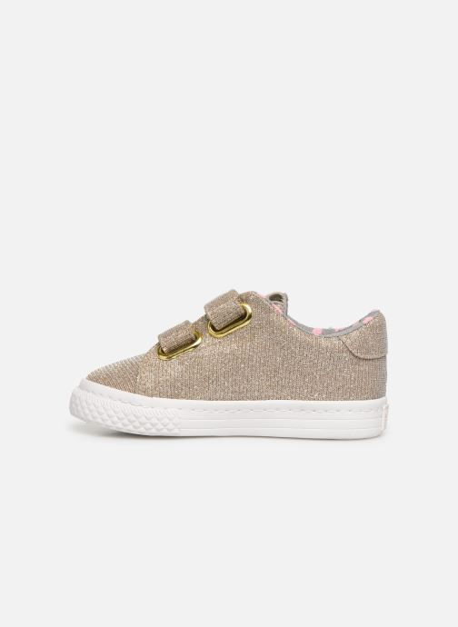 Trainers Gioseppo 43930 Bronze and Gold front view