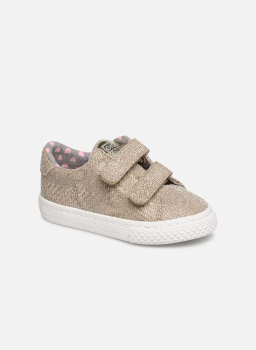 Trainers Gioseppo 43930 Bronze and Gold detailed view/ Pair view