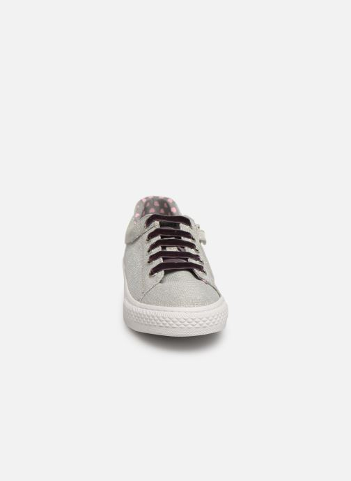 Sneaker Gioseppo 43946 silber schuhe getragen