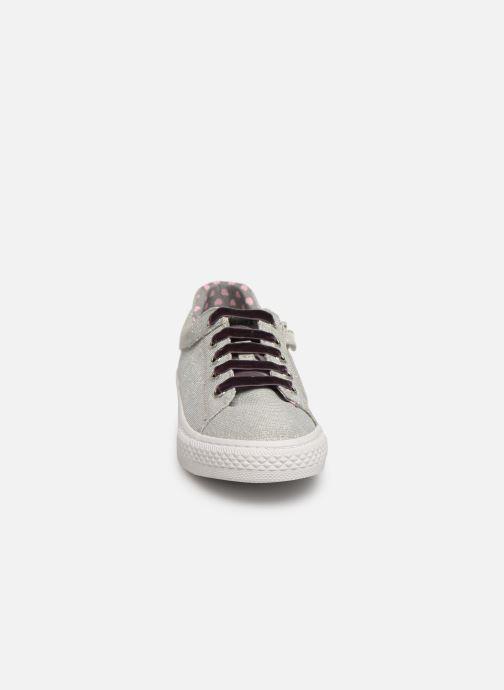 Baskets Gioseppo 43946 Argent vue portées chaussures