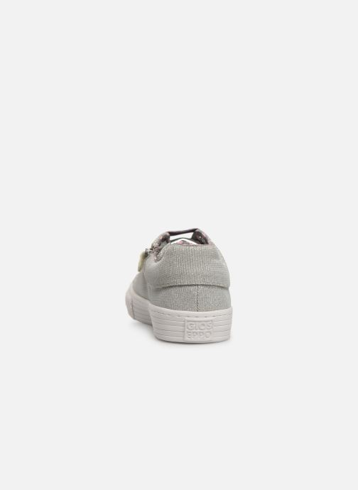 Trainers Gioseppo 43946 Silver view from the right
