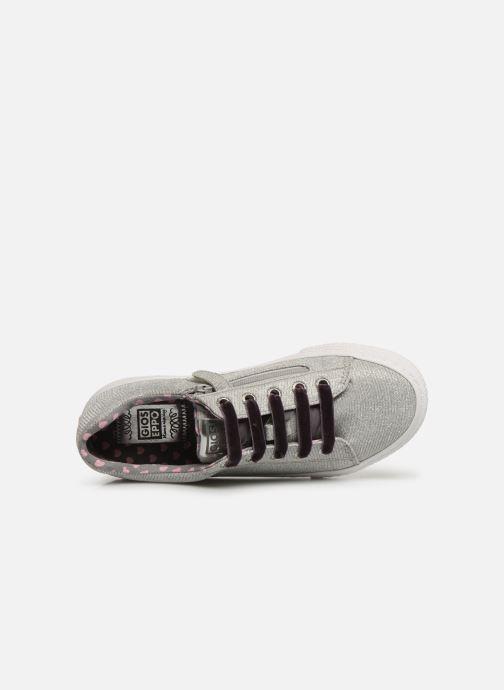 Sneaker Gioseppo 43946 silber ansicht von links