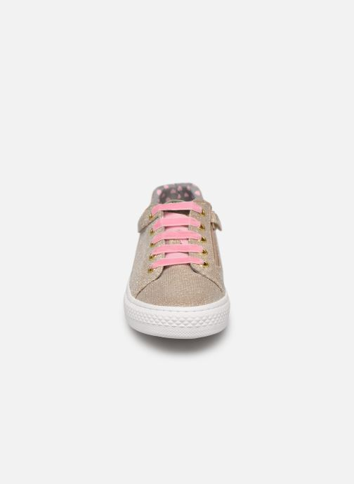 Trainers Gioseppo 43946 Bronze and Gold model view