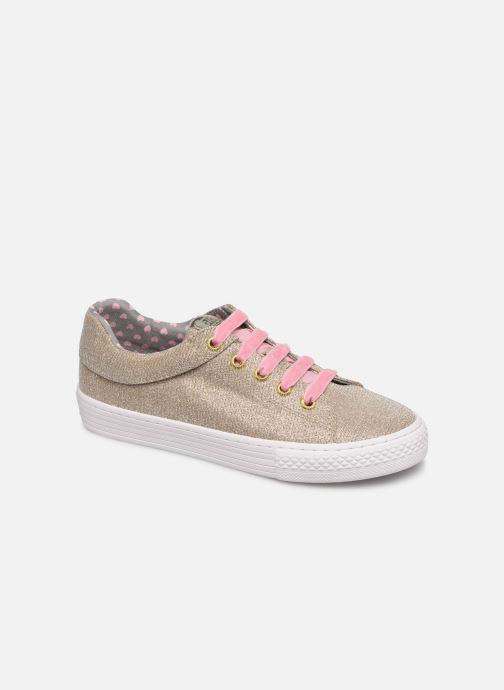 Trainers Gioseppo 43946 Bronze and Gold detailed view/ Pair view