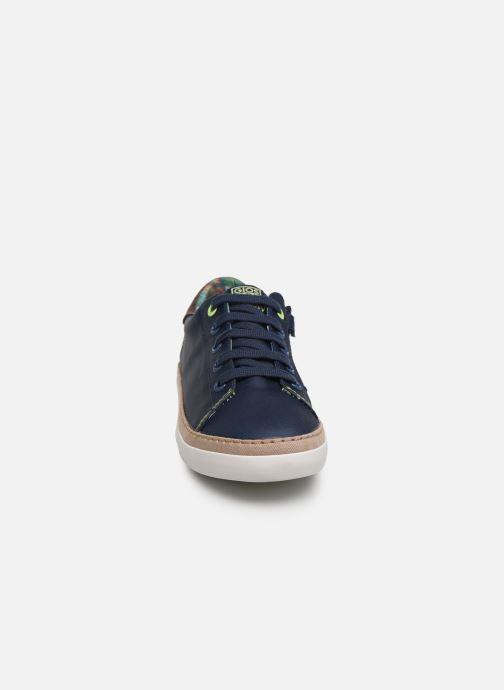 Sneakers Gioseppo 43957 Azzurro modello indossato