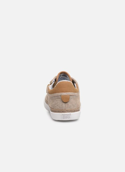Trainers Gioseppo 43973 Beige view from the right