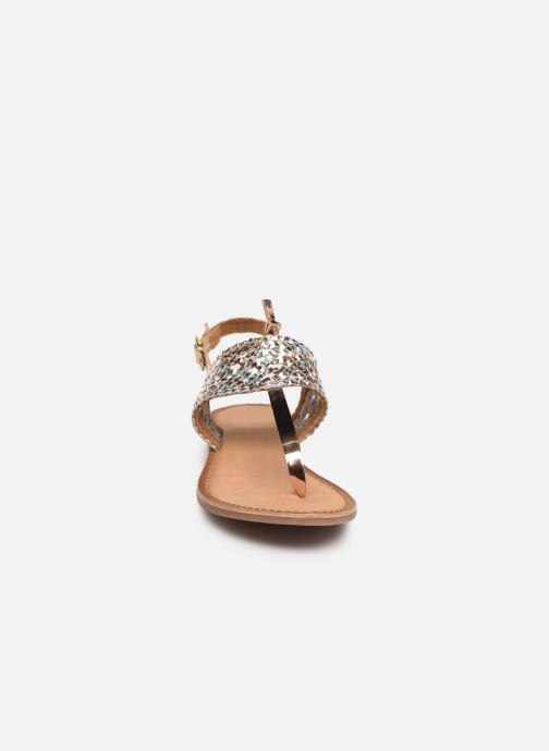 Sandales et nu-pieds Gioseppo 44161 Argent vue portées chaussures