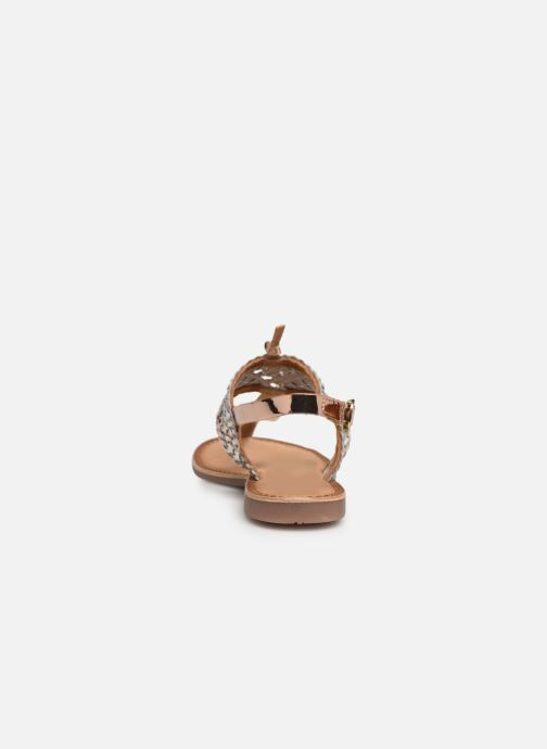 Sandals Gioseppo 44161 Silver view from the right