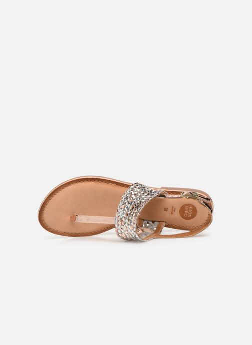 Sandals Gioseppo 44161 Silver view from the left
