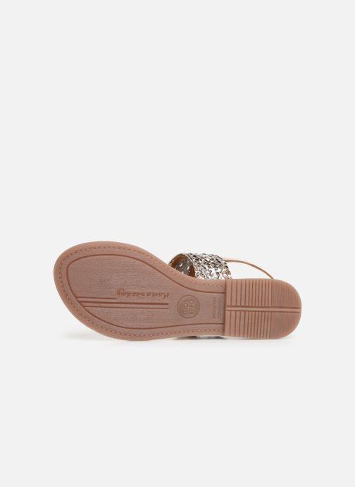 Sandales et nu-pieds Gioseppo 44161 Argent vue haut