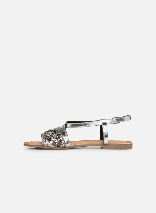 Sandals Gioseppo 44173 Silver front view