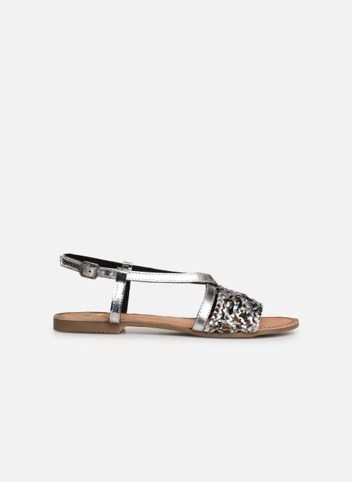 Sandals Gioseppo 44173 Silver back view
