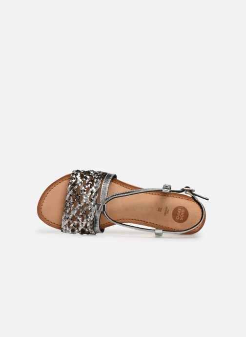 Sandals Gioseppo 44173 Silver view from the left