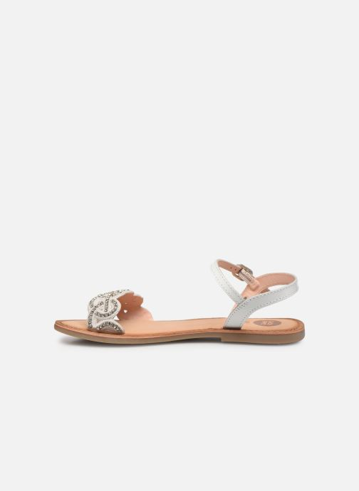 Sandales et nu-pieds Gioseppo 45015 Blanc vue face