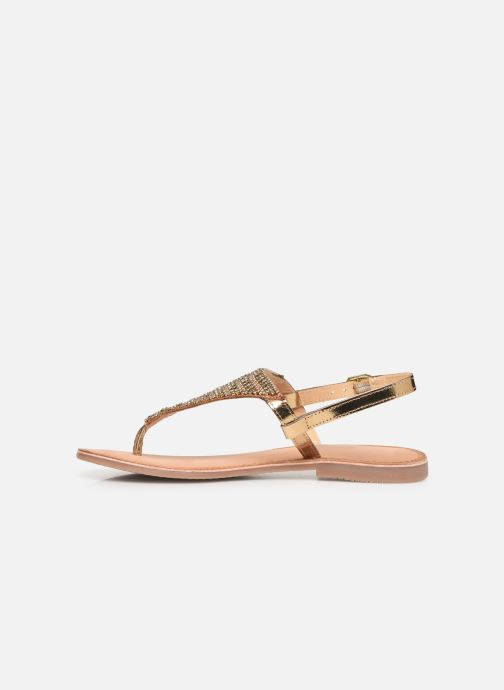 Sandals Gioseppo 45277 Bronze and Gold front view