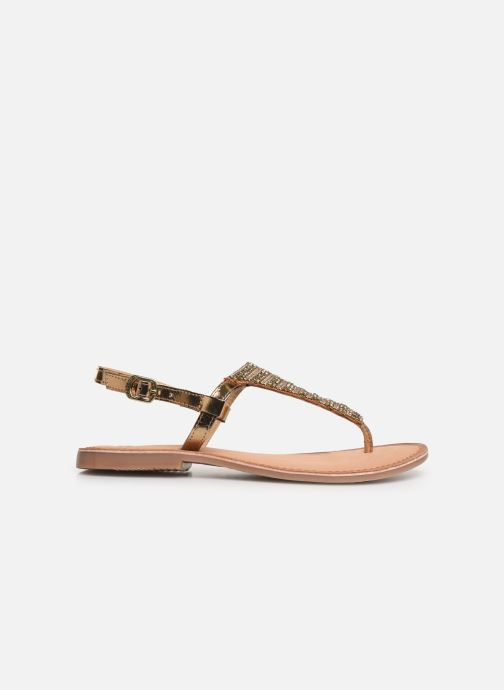 Sandals Gioseppo 45277 Bronze and Gold back view