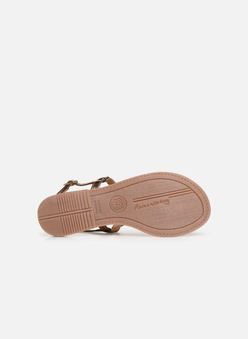 Sandaler Gioseppo 45277 Guld og bronze se foroven