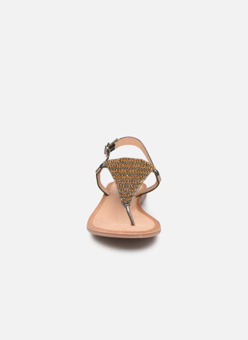 Sandalen Gioseppo 45277 silber schuhe getragen