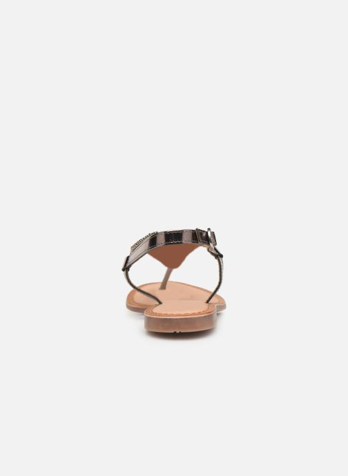 Sandals Gioseppo 45277 Silver view from the right