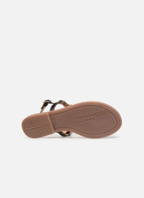 Sandals Gioseppo 45277 Silver view from above