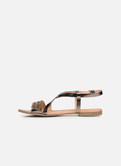 Sandals Gioseppo 45278 Silver front view