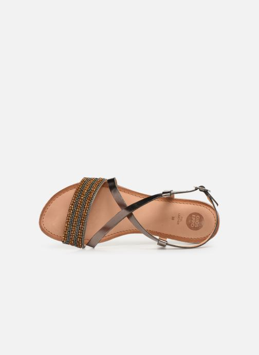 Sandals Gioseppo 45278 Silver view from the left