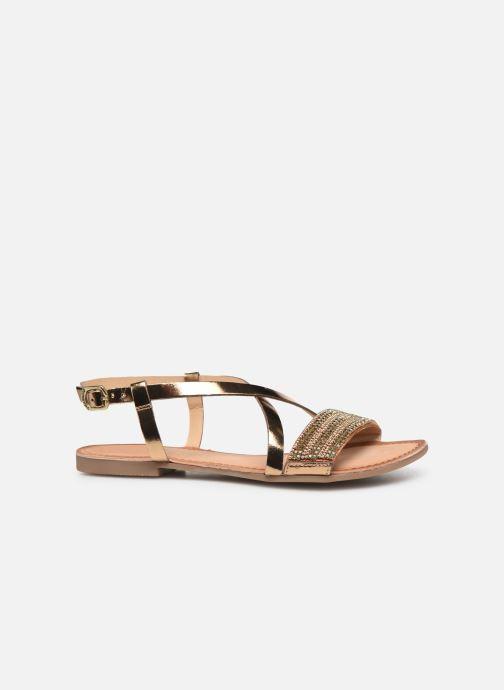 Sandales et nu-pieds Gioseppo 45278 Or et bronze vue derrière