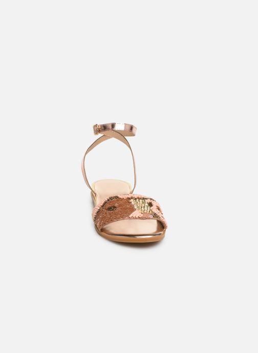 Sandali e scarpe aperte Gioseppo 45282 Rosa modello indossato
